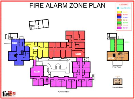 house design flame zone safety signage lindum fire services