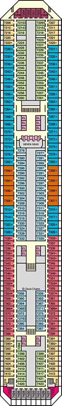 Carnival Victory Deck Plans by Carnival Victory Deck 7 Empress Deck Cruise Critic