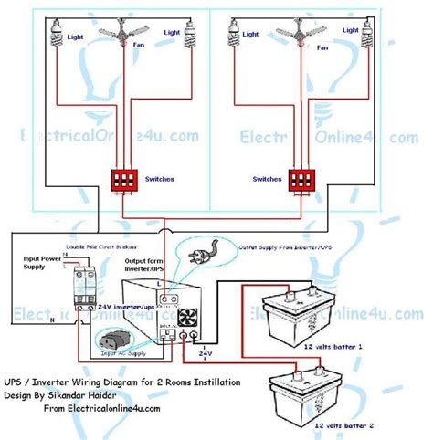ups wiring diagram efcaviation
