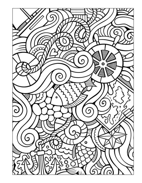 Sea Colouring Book 930 best images about colouring the sea