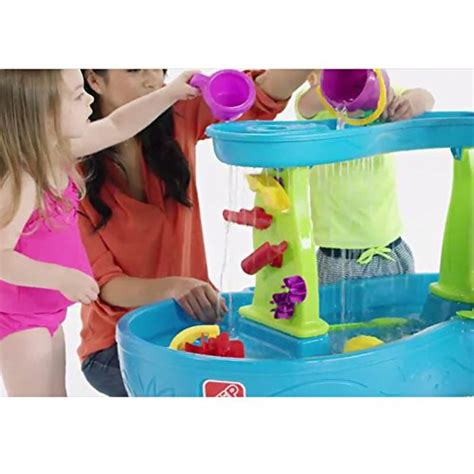 2 showers water table step2 showers splash pond water table playset buy
