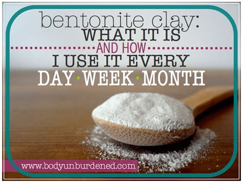 What Is Detox Bentonite Clay by Bentonite Clay What Is It And I Use It Every Day Week