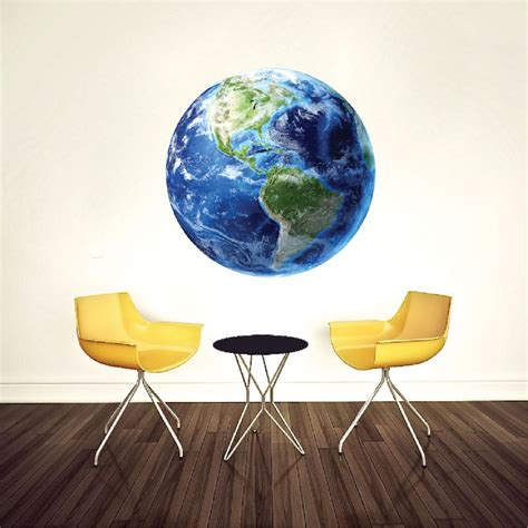 earth wall mural earth wall mural decal planet wall decal murals