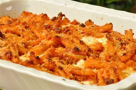 cucinare la pasta al forno ricetta pasta al forno alla siciliana le ricette dello