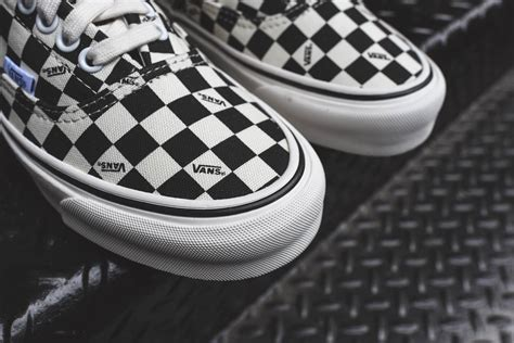 Vans Vault Og Checkboard vans vault sk8 hi and era og lx quot checkerboard pack quot page 2 of 2 sneakers addict