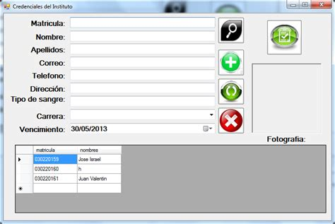 mostrar imagenes visual basic credencial en visual studio 2012 visual basic net