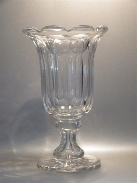 Antique Celery Vase by Large Cut Glass Celery Vase 19th Century 433673