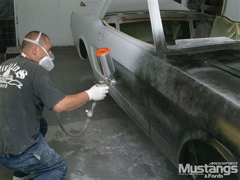 spray painting a car autobody refinishing painting wire feed mig welder photo 4