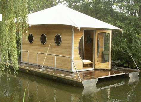 boat home tiny houses small spaces tiny prefab houseboat