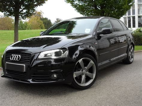 Audi A3 Sportback Special Editions by Used Audi A3 Sportback Tdi S Line Special Edition Black