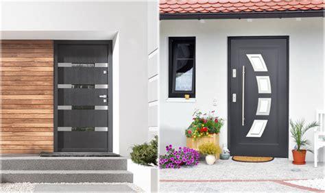 Steel 36 Quot Exterior Doors In Stock Modern Home Luxury House Metal Front Door Gates