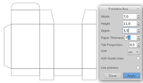 Kotak Ks 4 2 X 2 panduan inkscape bahasa indonesia membuat kotak kemasan dengan mudah