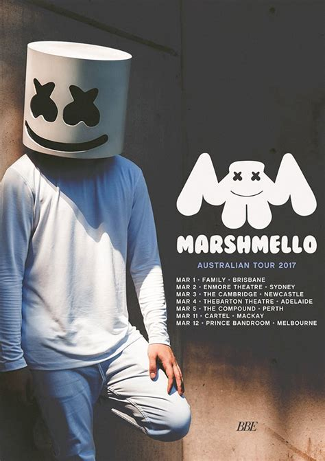 marshmello tour marshmello locks in 2017 australian tour oz edm