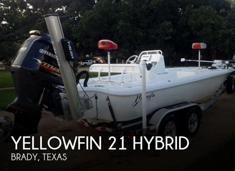 hybrid bass boat yellowfin 21 hybrid boats for sale