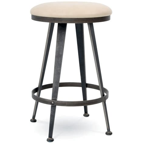 Backless Swivel Counter Stools by Pictured Here Is The Aries Swivel Backless Counter Stool