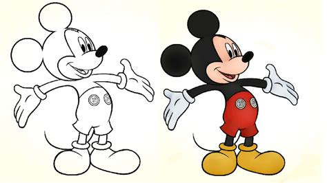 mickey mouse color mickey mouse living room disney color and play mickey