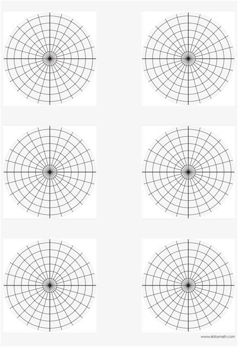 polar plane graph paper main image blank polar graph