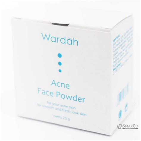 Bedak Wardah Bubuk detil produk wardah acne powder 25 gr 1015050010268 8993137678728 superstore the smart choice