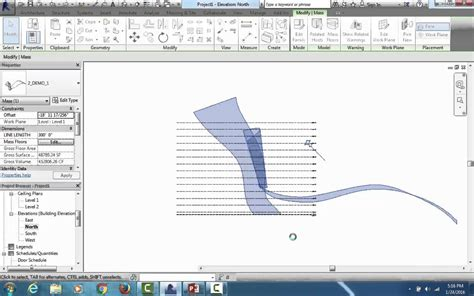 revit tutorial conceptual mass revit 2016 conceptual mass floors and floor schedules 7