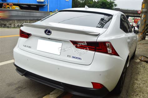 can other fs 2007 lexus is 350 sport package with extras unpainted for lexus is250 is350 is300h f sport f type rear