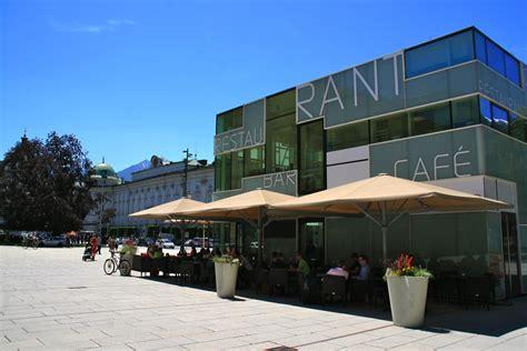 Pavillon Innsbruck cafe bar pavillon innsbruck das lokal f 252 r gehobene