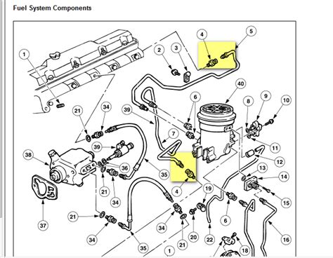 7 3 powerstroke fuel line diagram 7 3 powerstroke fuel system bleeding 7 free engine image