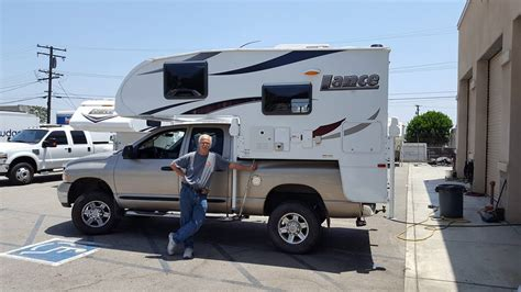 Truck Camper With Bathroom New Lance 650 Hallmark And Other Brands Wander The West