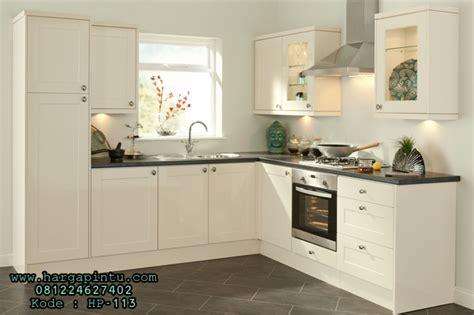 Multiplek Putih desain kitchen set model set kitchen minimalis murah