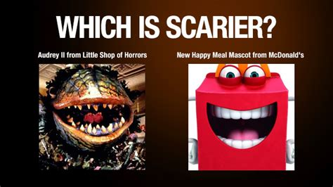 Happy Meal Meme - mcdonald s rolls out scary new happy meal mascot that