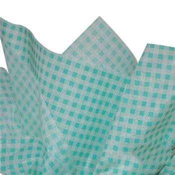 white patterned tissue paper light green white gingham patterned tissue paper