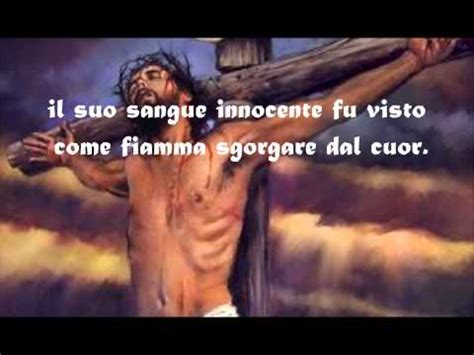 di ges禮 bambino gallinaro ti saluto o croce santa