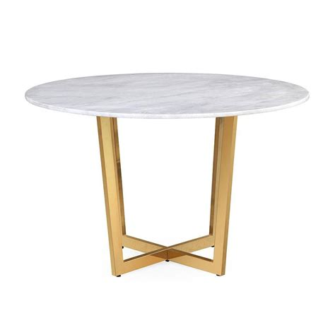 white marble dining table munford white marble dining table froy