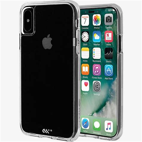 mate tough clear for iphone xs x verizon wireless