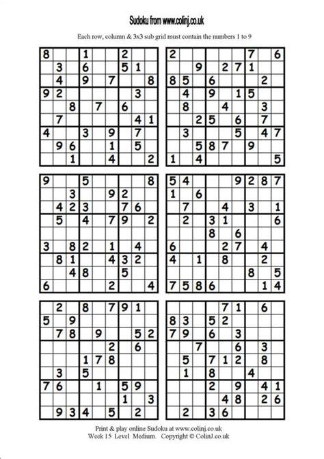 information desk sign crossword sudoku printable 6 per page classroom pinterest