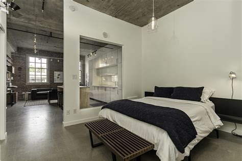 bedroom partition historic loft brings together rich heritage and