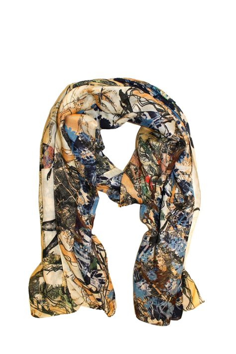 carlos scanagatta italian scarf from wisconsin by