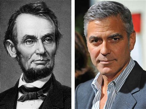 lincoln news today george clooney is abraham lincoln s distant cousin says