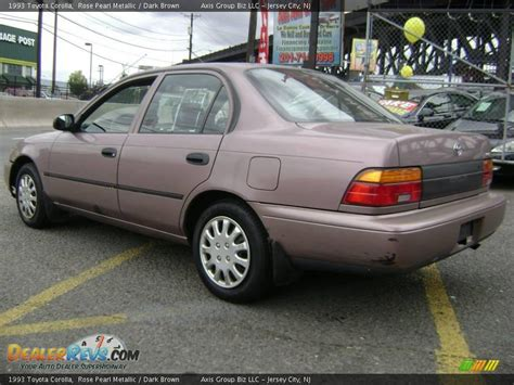 Brown S Toyota Service 1993 Toyota Corolla Pearl Metallic Brown Photo