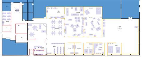 automotive workshop floor plan layout