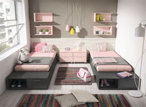 teenage girl rooms 22 chic and inviting shared teen girl rooms ideas digsdigs
