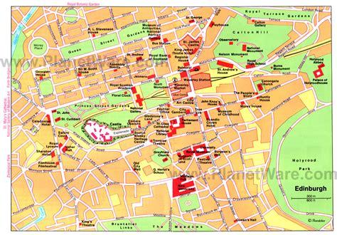 printable maps edinburgh city centre edinburgh map detailed city and metro maps of edinburgh