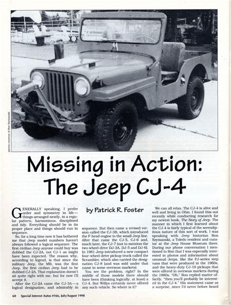 jeep cj 4 cj 4 jeep