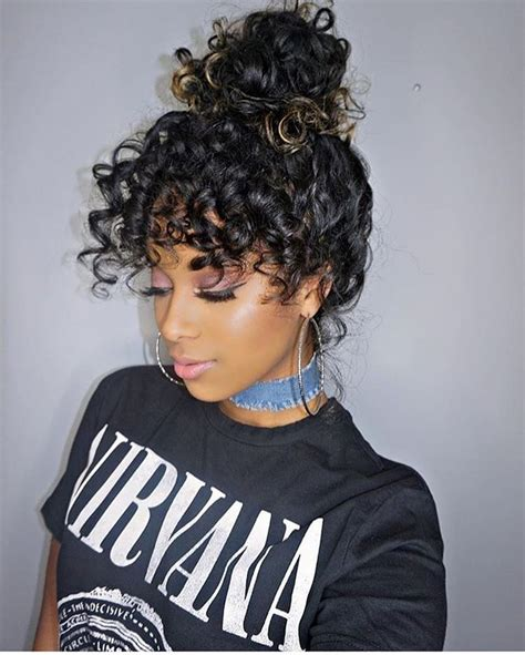 premade african american hair buns 25 unique messy curly bun ideas on pinterest curly bun