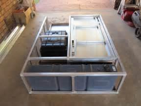 diy hilux d c drawer system