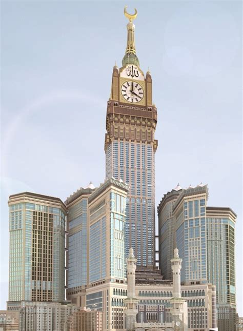 al abraj the abraj al bait tower in makkah saudi arabia gets ready