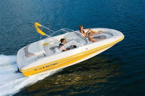 yellow tahoe boats research tahoe 204 wt io deck boat on iboats