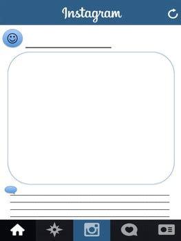 blank instagram worksheet by sean kelley | teachers pay