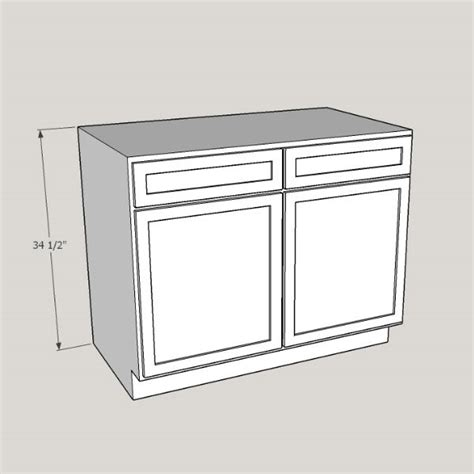 kitchen sink base cabinet size cabinet sizes fremont cabinet