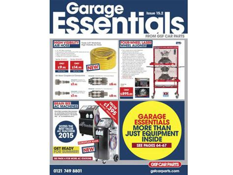 Garage Necessities by Gsf Launch Summer Promotion Garagewire