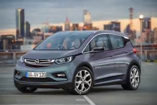 Gm Opel Opel Electric Vehicle Rendered Based On Chevy Bolt As Gm